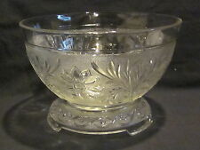 Anchor Hocking Sandwich Punch Bowl
