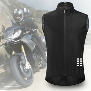 Quick-Drying Sleeveless Cycling Tank Top Bike Vest Gillet Bicycle Jersey