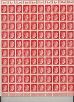 Stamp Germany Mi 788 Sc 511B Sheet 1941 WWII Fascism War Era Hitler MNH F