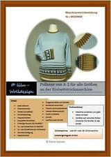 PDF Anleitung Strickanleitung Strickmaschine Pulli von A-Z MS00004
