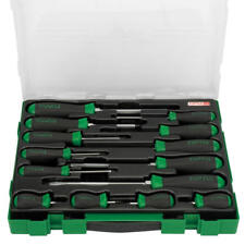 Toptul 14 Piece Super Grip Slotted & Phillips Screwdriver Set GZC1401