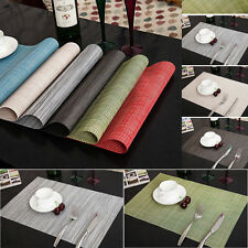 Tableware Placemats Insulation Place Mats Table Coasters Kitchen Dining Sales