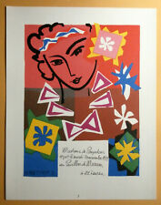 HENRI MATISSE  >INVITATION AU BAL<  SIGNED HAND NUMBERED LITHOGRAPH COA