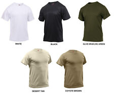 Performance Poly T-Shirt Quick Dry Moisture Wicking Army Navy USMC Undershirt PT