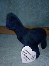 Ty Bronty the Dinosaur Beanie Baby - Brontosaurus 1999 vintage