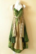 "E480 Women Kariza Vintage Silk Magic 36"" Sarong Pareo Wrap Skirt Tube Dress +DVD"
