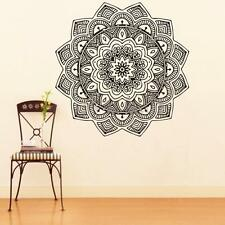 Indian Mandala Flower Vinyl PVC Removable Art Wall Sticker Decal Mural Room Home