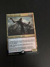 MTG MAGIC HOU THE LOCUST GOD (FRENCH LE DIEU-SAUTERELLE) NM FOIL
