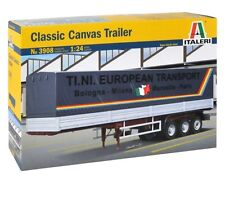 ITALERI 1:24 KIT CANVAS TRAILER CLASSIC LUNGHEZZA 50,5 CM ART 3908