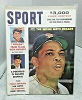 Sport Magazine June 1961 Willie Mays Giants Yogi Berra Yankees Roy Face