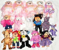16 x BEANIE KIDS (15 x Regular and 1 x Small) plus Beanie Babies Idiot Guide