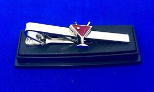 Martini Glass Tie Bar Cocktail Glass Bartender Tie Clip (avail in diff. colors)