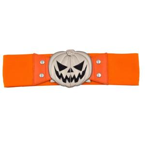 Kreepsville 666 Elastic Waist Belt Trick Or Treat Pumpkin Orange