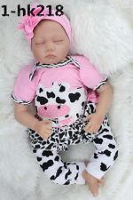 Realistic Handmade Reborn Baby Doll Girl Newborn Lifelike Soft Vinyl Sleeping