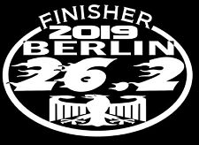 2019 Or Any year Berlin Marathon Germany Finisher Decal Sticker
