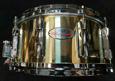 """Pearl RFB1465 Reference Brass Snare Drum Messing 14x6,5"""" Rullante Caisse Claire"""