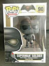 Funko Pop Superman Soldier Vinyl Collectible Figure Toy 90 Dc Comics vs. Batman