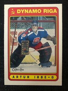 1990-91 O-Pee-Chee OPC #501 Artur Irbe ONLY Rookie Card RC UER