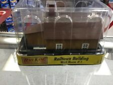 MTH Rail King RailTown Building Work House #1 06190