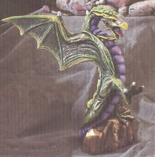 Ceramic Bisque Upright Dueling Dragon U-Paint Ready to Paint Fantasy Mystical