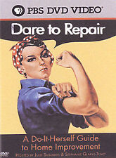 Dare to Repair: A Do-It-Herself Guide to Home Improvement (DVD, 2004) PBS NEW