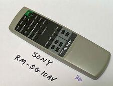 remote control     r36 SONY RM-SG10AV