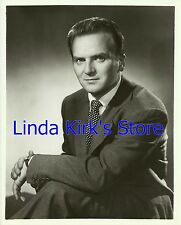 "Kevin O'Morrison Glossy Photograph ""Charlie Wild, Private Detective"" CBS-TV"