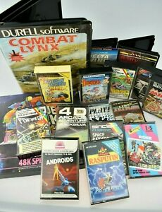 Great Bundle Of 17 Sinclair ZX Spectrum Games All Complete