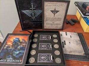 WH40K Space Marine Codex Indomitus Edition 8th Ed Limited Edition Great Shape