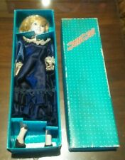 "16"" Princess Diana Porcelain Doll, Blue Gown In Original Box"
