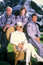 ERNEST BORGNINE ALEX CORD JAN-MICHAEL VINCENT  CAST  TV AIRWOLF 24X36 POSTER