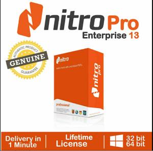 Nitro Pdf Pro 13 Entreprise 2021