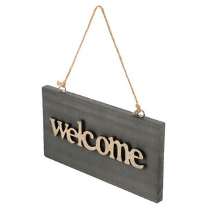 1pc Chic Practical Fashion Wooden Hanging Board for Hotel Home