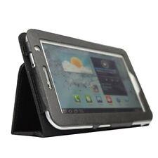 Leather Case for 7-Inch Samsung Galaxy Tab 2 P3100/P3110 black B9G5