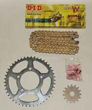 DID Gold Upgrade X-Ring Chain & Sprocket Kit Suzuki SV650 N 1999-2007 Naked