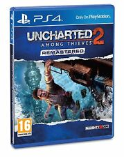 PS4 GAME UNCHARTED 2 Among Thieves HD Remastered NEW