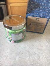 Partylite Cypress Fig 3 Wick Jar Candle NIB! 13.2 oz