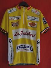 Maillot cycliste La Jalabert Castres Mazamet SFR Jaune - M