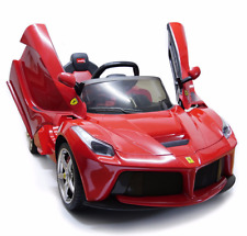 12v Ferrari Laferrari Battery Kid Ride On Car Toddler Luxury Exotic Power Wheels