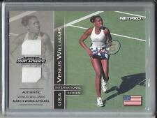 Venus Williams 2003 NETPRO Authentic Match Worn Apparel #279/500