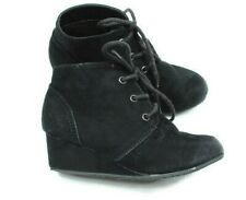 Arizona Kids Girl Ankle Booties Toddler Size 11 M Suede Black Heel Boots