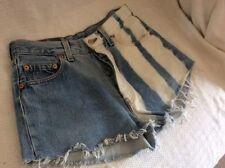 Women's Striped Ultra Low Shorts