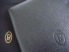 Parmigiani Fleurier 2016 Black Leather Refillable Notebook