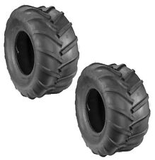 Set of Two (2) Bar Tread 4 Ply Tires 22 X 11 X 10 Grasshopper 482483 Kenda K472
