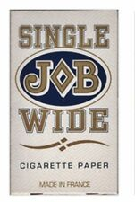 "10 x JOB Cigarette Rolling Papers ""Single Wide"" - Free Same Day Express Shipping"