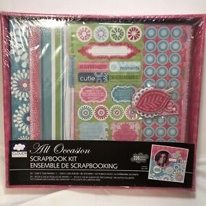 Cloud 9 Design All Occasion Scrapbook Kit Album Papers and Stickers NEW