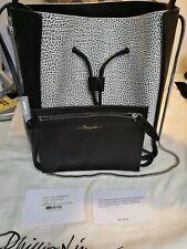 Nuovo di Zecca 3.1 Phillip Lim Soleil CATENA leather handbag black & white £ 795