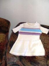 robe lainage poupee poupon ancien convert