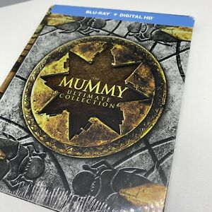 NEW! The Mummy Ultimate Collection Steelbook Blu-ray Digital HD 4 Films Sealed!