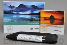 Lee Filters Foundation Holder Kit, 0.9ND Grad Soft Filter & 77mm Wide Adapter